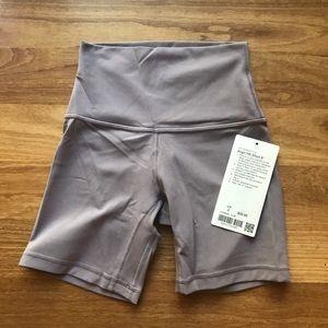 "Align Shorts 6"" Size 2"